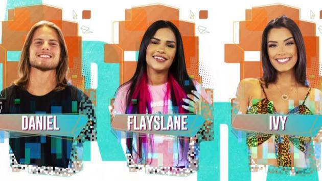 Daniel, Flayslane e Ivy são os emparedados da semana