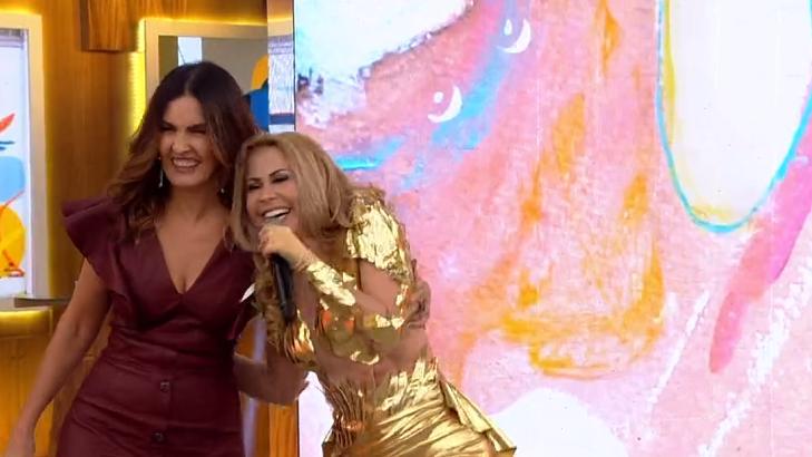 Joelma e Fátima Bernardes