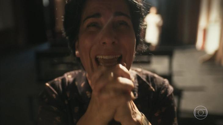 Glória Pires chorando como Lola