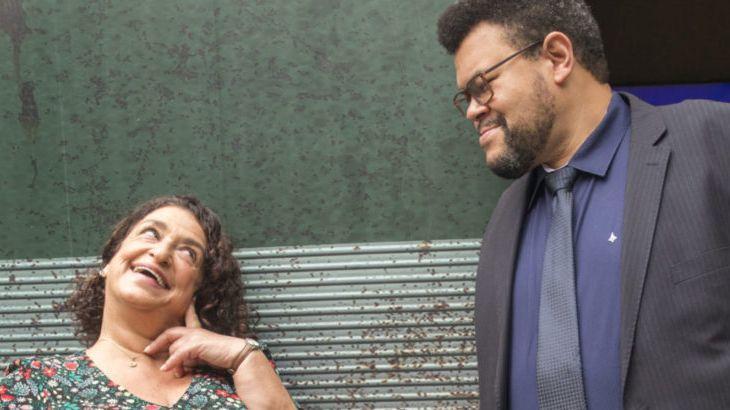 Salve-se Quem Puder: Grace Gianoukas torce para musa da Melô da Safadeza ficar solteira