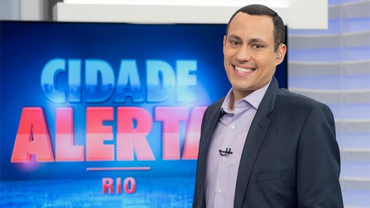 Âncora do Cidade Alerta Rio é diagnosticado com Covid-19