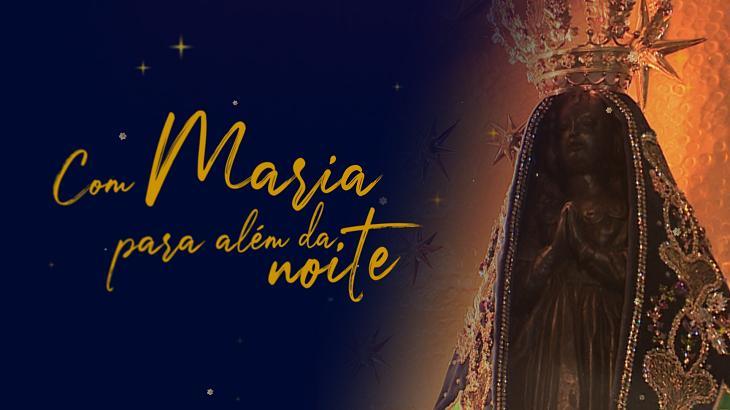 Logotipo do especial Com Maria para Aém da Noite