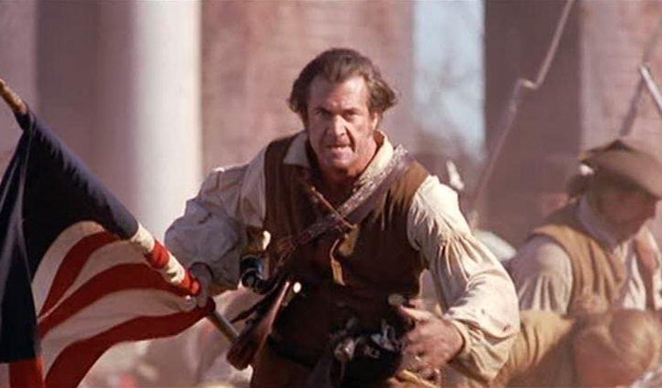 Mel Gibson em O Patriota