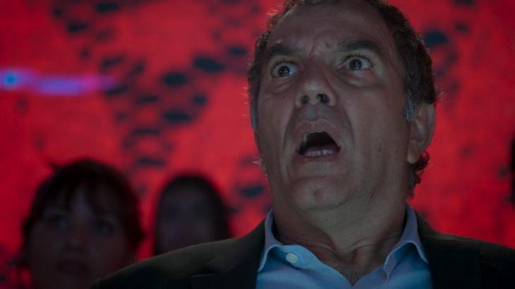Humberto Martins em cena do último capítulos de A Força do Querer, em reprise na Globo
