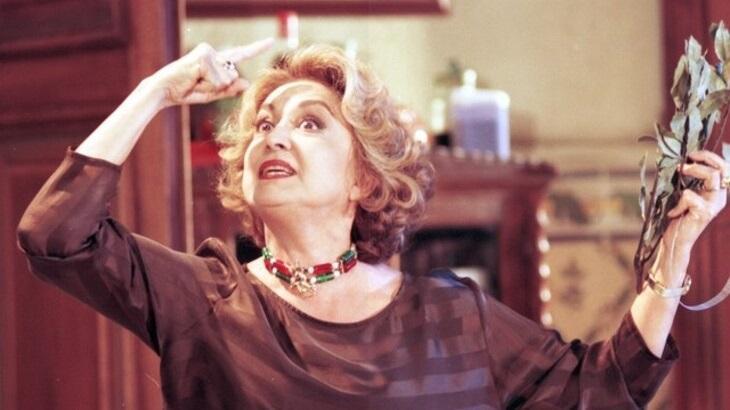 Eva Wilma como Maria Altiva em A Indomada, novela de 1997