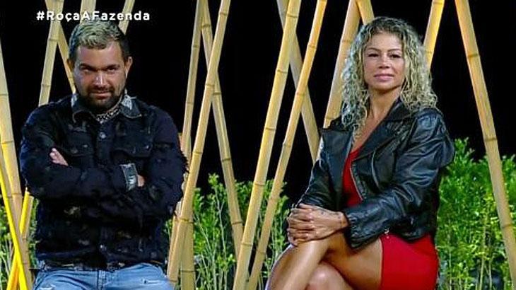 Catia e Evandro disputam permanência na fazenda