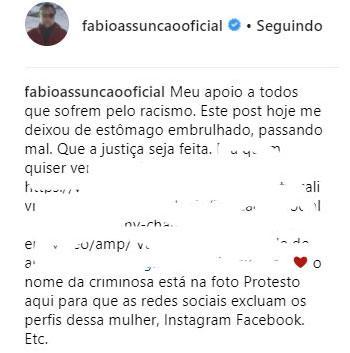 """Fábio Assunção comenta caso envolvendo Titi, filha de Gagliasso: \""""passando mal\"""""""