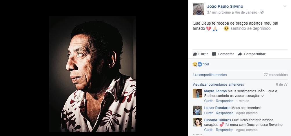 Morre o ator Paulo Silvino, aos 78 anos
