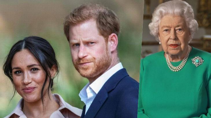 Príncipe Harry, Meghan e Elizabeth