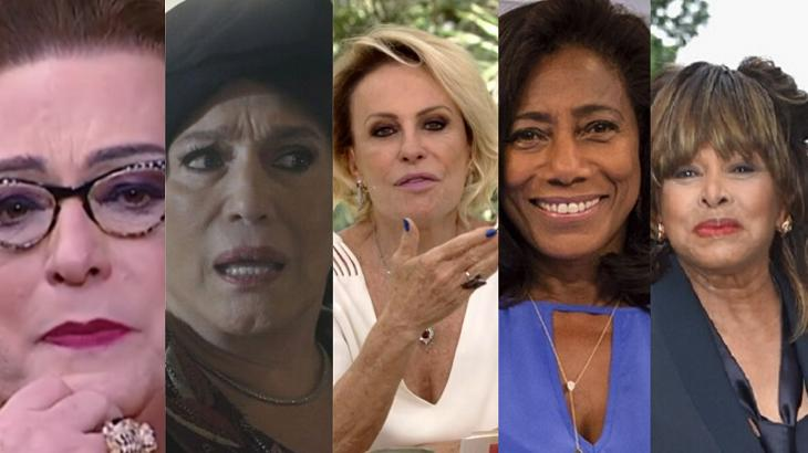 Mamma Bruschetta, Susana Vieira, Ana Maria Braga, Glória Maria e Tina Turner