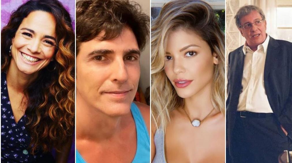 Alice Braga, Reynaldo Gianechini, Vitória Strada e Marco Nanini