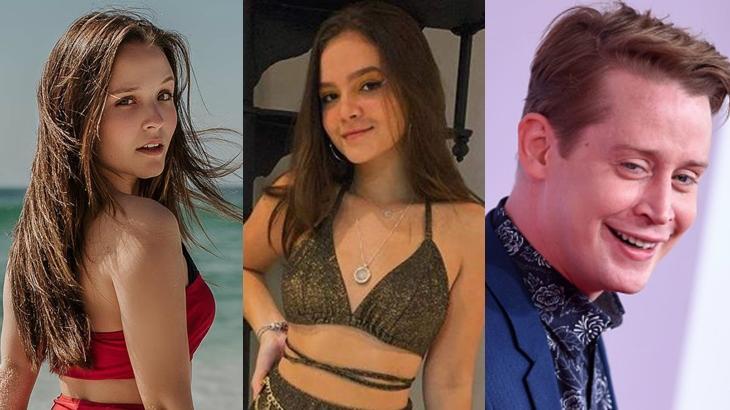 Larissa Manoela, Mel Maia e Macaulay Culkin