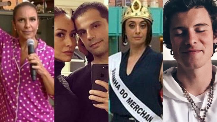 Ivete sangalo, Sabrina Sato e Duda Nagle, Catia Fonseca e Shawn Mendes