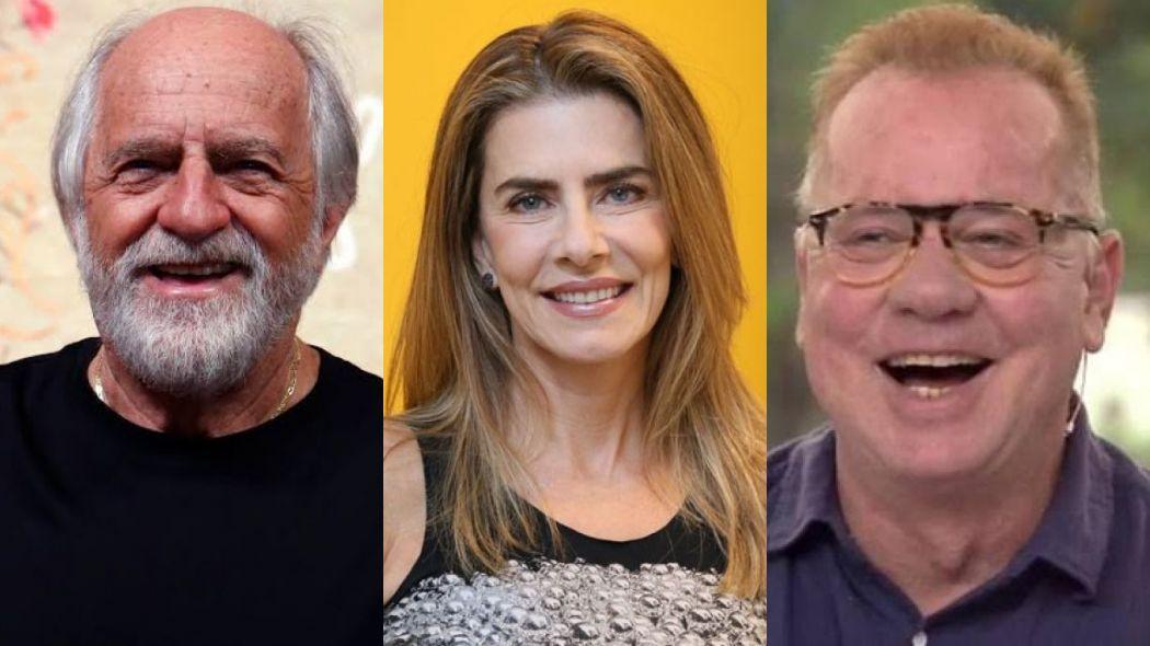 Ary Fontoura, Maitê Proença e Luiz Fernando Guimarães rebatem Regina Duarte