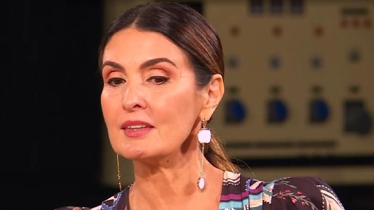 Fátima Bernardes chora em entrevista ao Se Joga, na Globo
