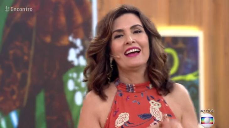 Marília Gabriela elogia solteirice de Fátima Bernardes e deixa apresentadora envergonhada