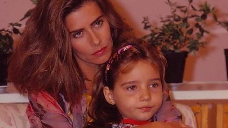 Maitê Proença e Tatyane Goulart em cena de Felicidade; novela está de volta, no Globoplay
