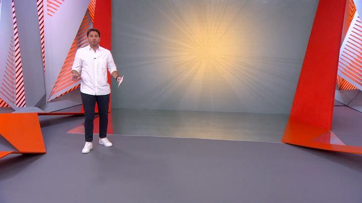 Felipe Diniz no Globo Esporte SP