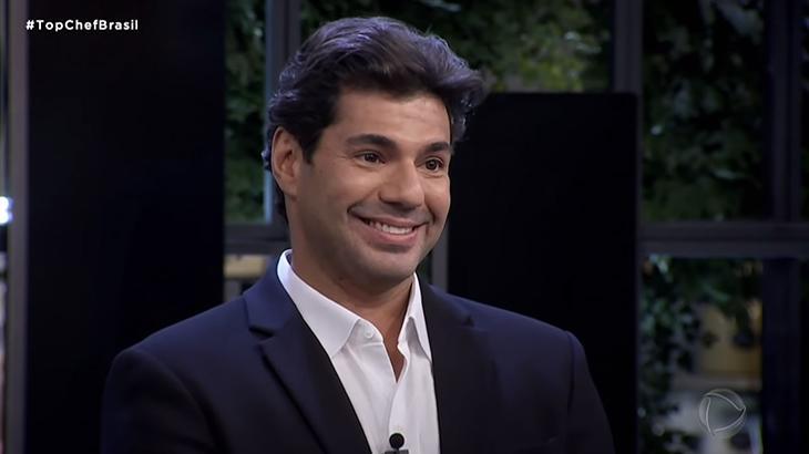 Felipe Bronze, apresentador e jurado do Top Chef Brasil