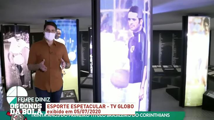 Band exibe reportagem da Globo