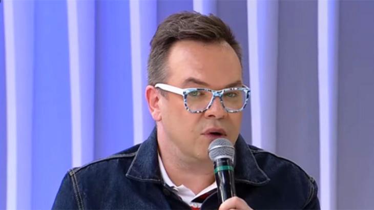 O jornalista Felipeh Campos