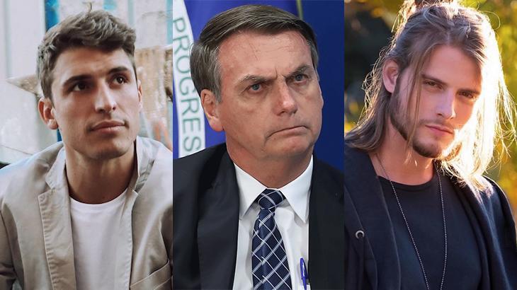 Felipe Prior, Jair Bolsonaro e Daniel Lenhardt