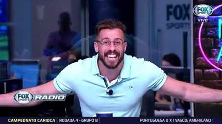 """Desrespeito, gritaria e bom humor: \""""Fox Sports Rádio\"""" é a mesa redonda sensação da TV paga"""