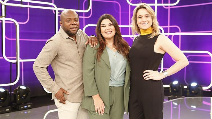 Érico Brás, Fabiana Karla e Fernanda Gentil