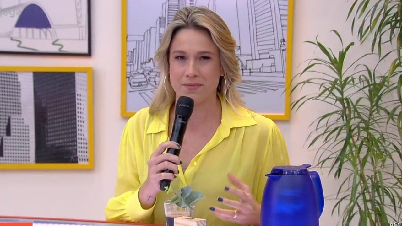 Fernanda Gentil no comando do último Se Joga, na Globo