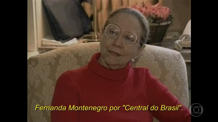 Em entrevista, Fernanda Montenegro se emociona ao falar de indicação ao Oscar