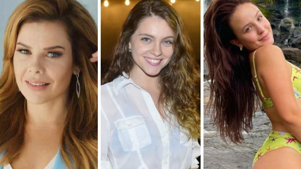 Atrizes mirins Fernanda Souza, Cecília Dassi e Larissa Manoela