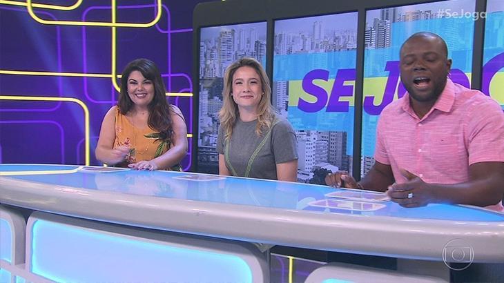 Fernanda Gentil estaria insatisfeita com o Se Joga