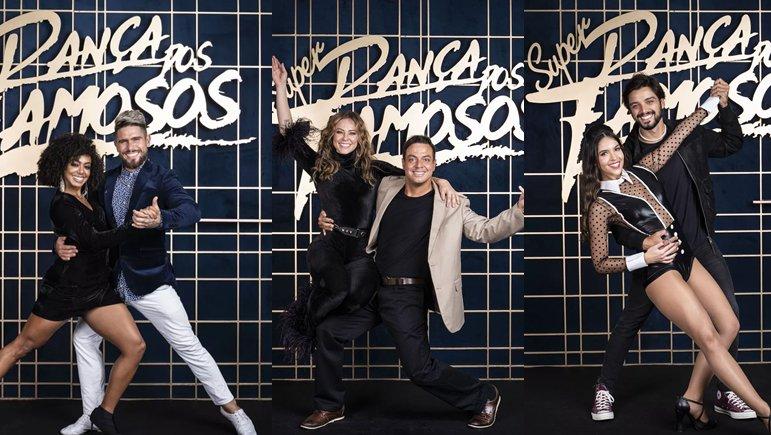 Finalistas do Super Dança dos Famosos