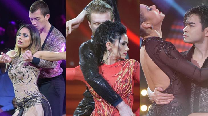 """Yudi, Suzana Alves e Lexa estão na final do \""""Dancing Brasil\"""", que segue em terceiro lugar na audiência"""