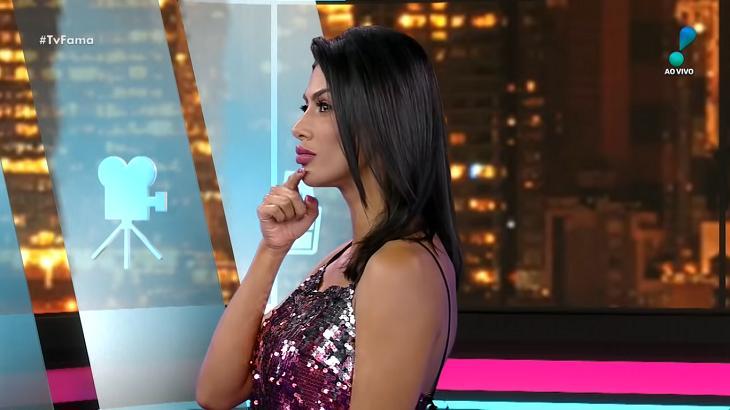 Flávia Noronha no TV Fama