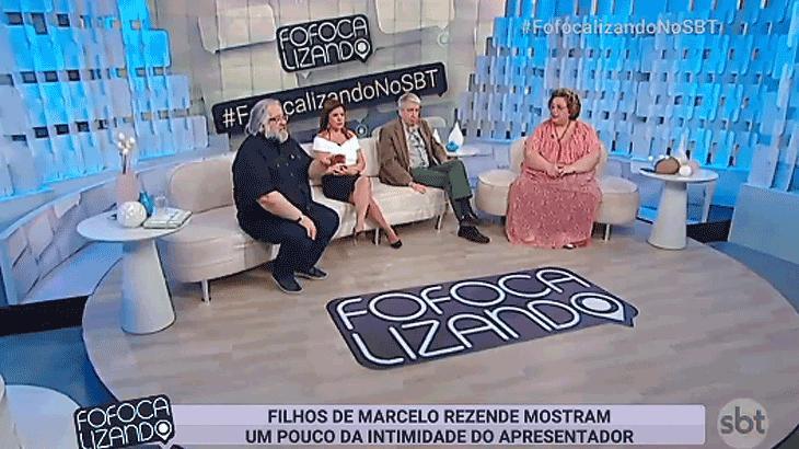 Leão Lobo sugere relacionamento entre Geraldo Luís e namorada de Marcelo Rezende