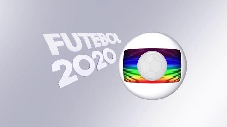 Logotipo futebol na Globo
