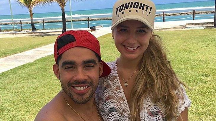 Gabriel Diniz e sua noiva
