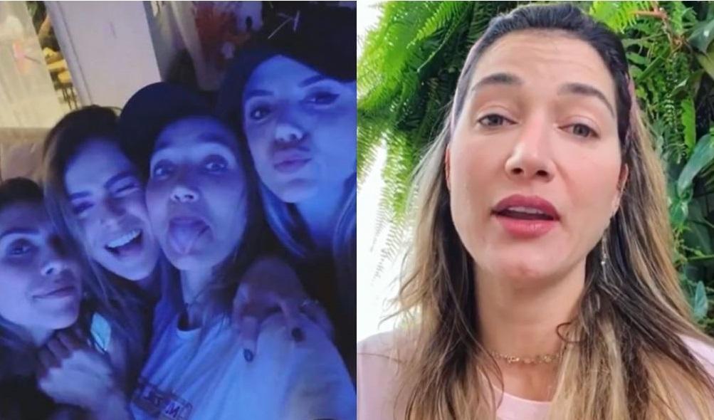 Gabriela Pugliesi, que já teve coronavírus, furou a quarentena para dar festa em casa