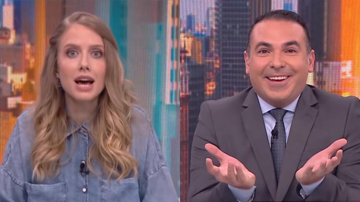 Gabriela Prioli e Reinaldo Gottino se desentenderam na CNN Brasil