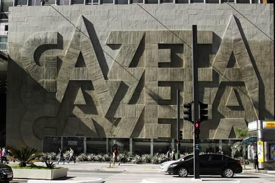 Sede da TV Gazeta na Avenida Paulista, em São Paulo