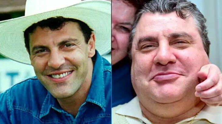 Gerson Brenner em 1998 e atualmente