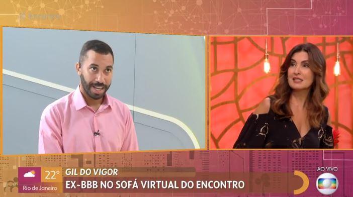 Gil do Vigor participa do programa Encontro