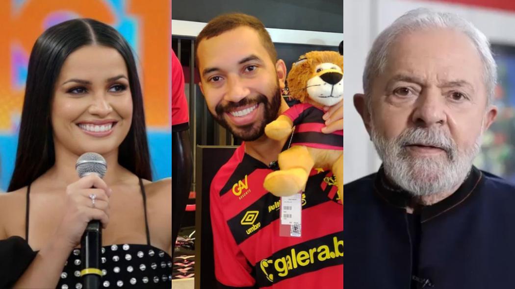 Juliette, Gil do Vigor e Lula