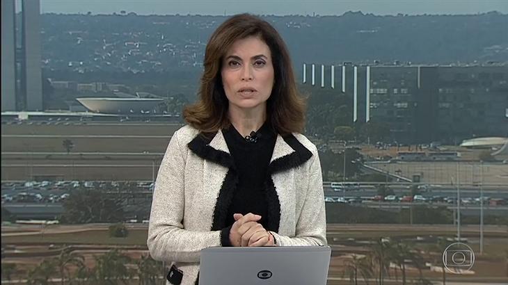 Figurino de Giuliana Morrone no Bom Dia Brasil virou piada nas redes sociais