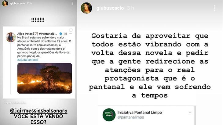 """Pantanal: Contra queimadas, \""""Jumas\"""" pedem para fãs esquecerem remake"""