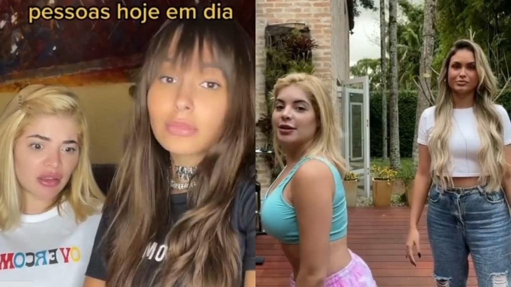 Gkay grava vídeos com Thaís Braz e Sarah Andrade, eliminadas do BBB21