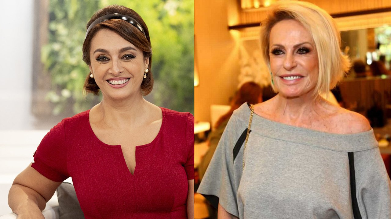 Cátia Fonseca (à esquerda) e Ana Maria Braga (à direita) em foto montagem