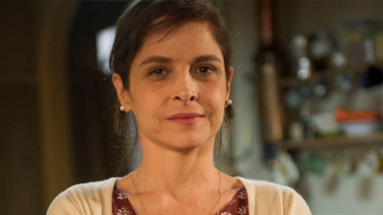 Drica Moraes como Cora na novela Império, em reprise na Globo