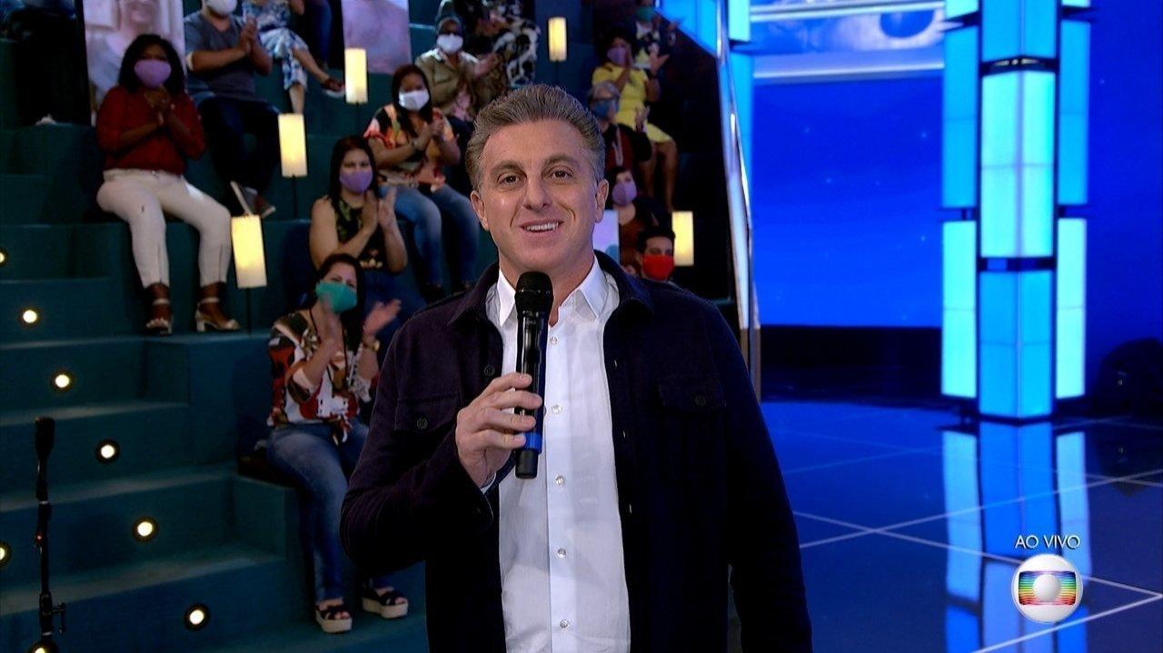 Luciano Huck no Domingão